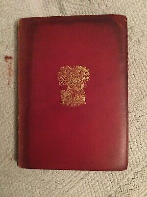1898 Merchant Of Venice Shakespeare Pocket Falstaff Edition