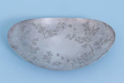 "Vintage Tiffany&co Sterling Silver Centerpiece Bowl 12.5 ""L"