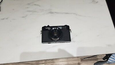 Yashica MG-1 SLR Camera Yashinon 45mm Lens Case & Strap Excellent condition