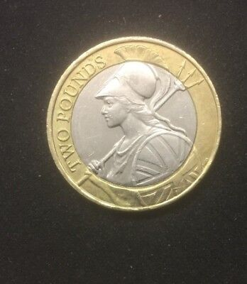 Rare £2 Pound Coin RULE Britannia very collectible ltd minting.......