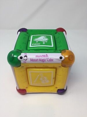 MUNCHKIN Mozart Magic Cube Developmental Orchestra Musical Baby Toy