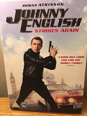 Johnny English Strikes Again DVD Rowan Atkinson