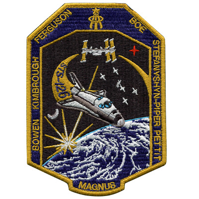 NASA Space Shuttle Endeavour STS-126 Embroidered Mission Patch