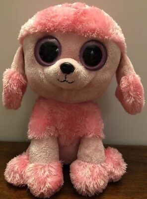 9f5b2010520 Ty Beanie Boo Boos Princess the Pink Poodle Dog Medium 9