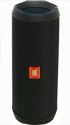 JBL Flip 4 Waterproof Portable Bluetooth Speaker (JBLFLIP4BLKAM) - Black