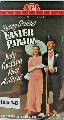 VHS Video Tape EASTER PARADE - Judy Garland/Fred Astaire  10