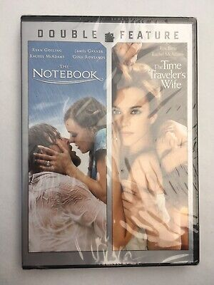 The Notebook & The Time Traveler's,(DVD New)** Free Shipping **
