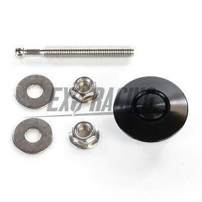 32mm Exoracing Black Bumper/ Boot Push Button Quick Release Pin Latch Lock