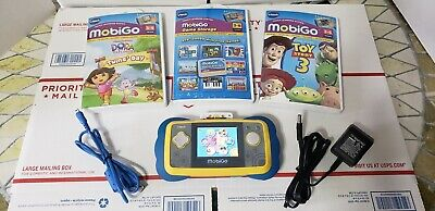 VTech MobiGo Touch Learning System w/ 2 Games