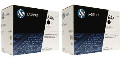 New Genuine Factory Sealed HP 64A Laser Toner Cartridge New Black Packaging