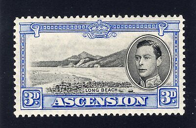 1938-43 Ascension. SC#44. SG#42. Mint, Lightly Hinged,  Extra Fine.