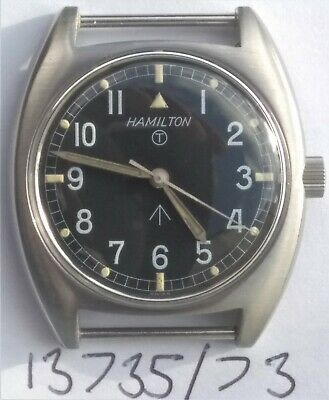 British Military Hamilton W10 Army Navy RAF Vintage Mechanical Watch Serviced