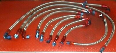 Sprint Car Race Car Modified Late Model Steel Braided Lines with Fittings
