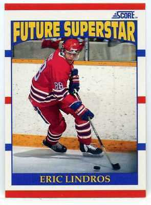 Eric Lindros 1990-91 Score Future Superstar #440 Rc Rookie