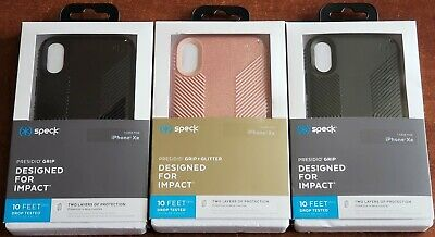 new product 64875 ed237 SPECK PRESIDIO GRIP or Grip Glitter case for the iPhone XR 6.1