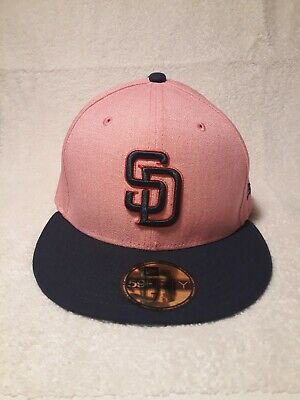 c054be98a97 New Era San Diego Padres Pink Mothers Day Collection FITTED Hat Cap 59FIFTY