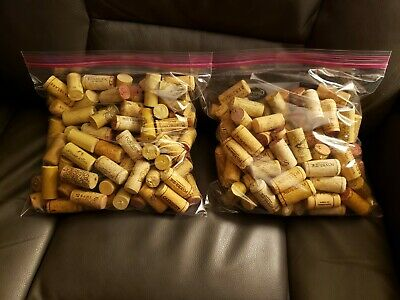 200 -Assorted Used Wine Corks - BEST PRICE - Crafts Plus More -FREE SHIPPING