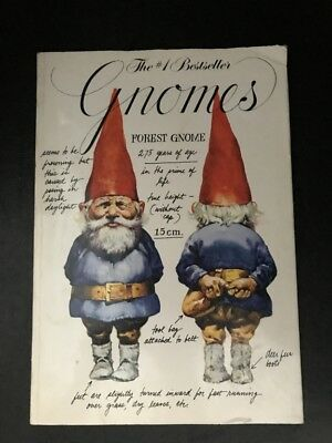 Gnomes by Rien Poortvliet Wil Huygen Paperback 1979