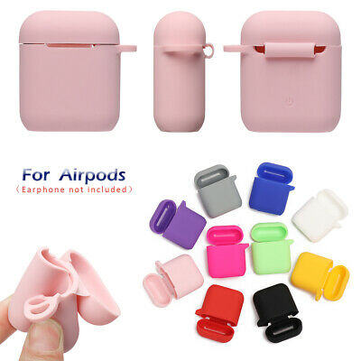 AirPods Accessories Case Protective Silicone Cover Skin Strap For Apple Air Pod