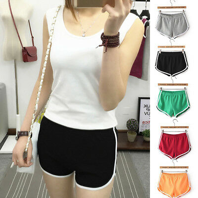 KF_ Women Casual Running Sports Shorts Yoga Gym Jogging Beach Short Pants Hot