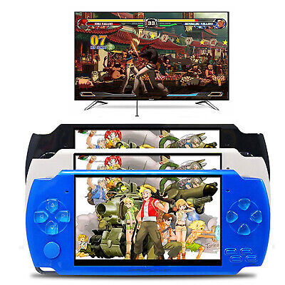 8GB Portable PSP Handheld Game Console 10000 Free Games Built-In Camera 4.3''