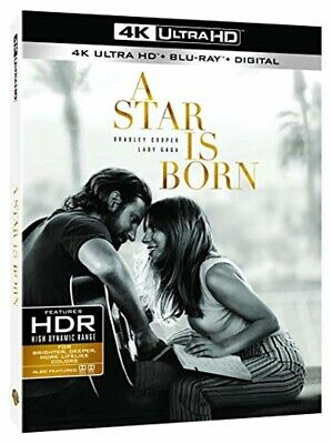A Star Is Born 4K Ultra HD + Blu-ray sous blister NEUF 2019 Lady Gaga (Acteur)