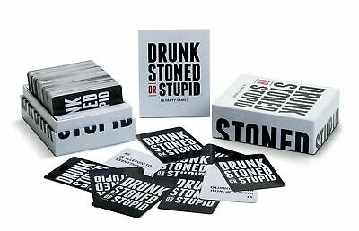Original Drunk Stoned Or Stupid Card Game Adult A Party Game 250 Cards