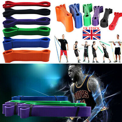 Resistance Bands Pull Up Bands Assisted Pull Up Bands Set Exercise Loop Bands UK