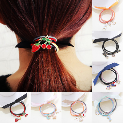 Cute Women Girls Hair Band Ties Rope Ring Elastic Hairband Ponytail Holder Hot