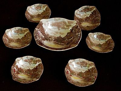 Set Da Macedonia X 6 Persone Porcellana Johnson Bros Old English Country Side