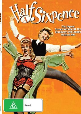 Half A Sixpence - Tommy Steele - Dvd - Free Local Post