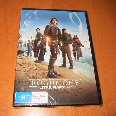 Rogue One : A Star Wars Story - 2017 Dvd , Region 4 ~ Brand New & Sealed !