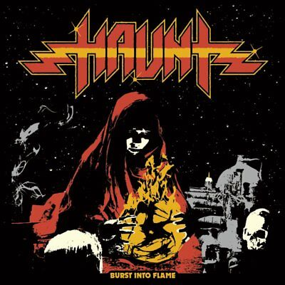 HAUNT - Burst Into Flames (NEW*LIM.CD ED.*US METAL*NIGHT DEMON*IRONFLAME*A.WITCH