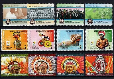 P105620/ Papouasie / Papua New Guinea / Y&t # 1615 / 1626 Neufs ** / Mnh 84 €