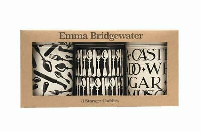 Emma Bridgewater - Knives and Forks Set of 3 Round Caddies KN2900 106 (d) x 150m