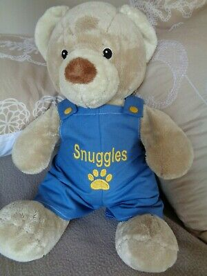Personalised clothes to fit boys girls Build a bear 30cm dungarees 40cm length