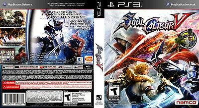 Sony Ps3 Replacement Game Case and Cover Soulcalibur V