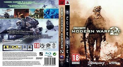 Sony Ps3 Replacement Game Case and Cover Call of Duty: Modern Warfare 2