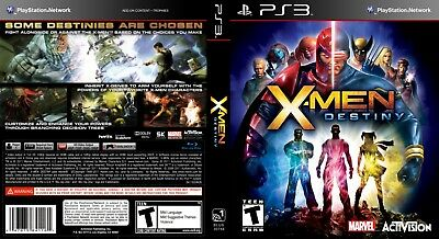 Sony Ps3 Replacement Game Case and Cover Video Game Case X-Men: Destiny