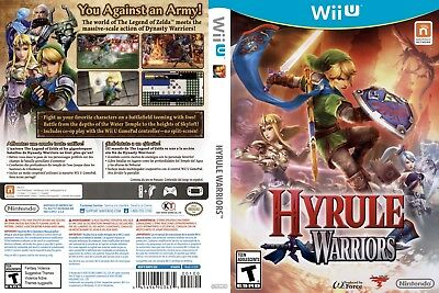 Nintendo Wii u Replacement Case and Cover Hyrule Warriors