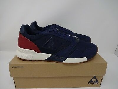 d7eb7bb58b6 LE COQ SPORTIF Noah Club Og Sneakers White Grey Blue 1820527 ...