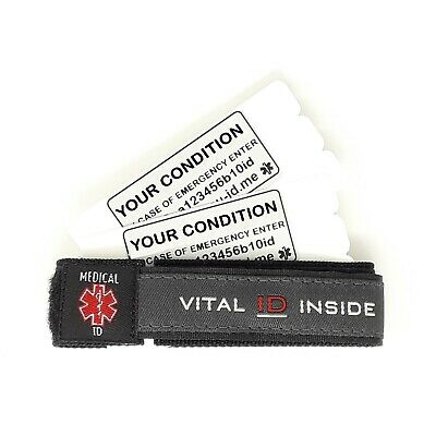 Alert Bracelet Mens Ladies Emergency Medical ID Phone Identity Wristband UK Sell