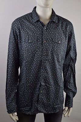 Diesel Sulpher Shirt Men's Long Sleeve Leisure Size Selectable