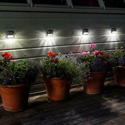 Solar Power Super Bright Fence Wall Post Light | Walkway Garden