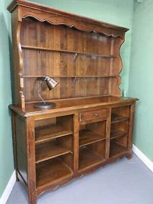 An Antique Early 20th Century Solid Oak Dresser Sideboard ~Delivery Available~