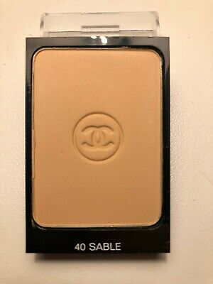 CHANEL Make Up Tester - Fondotinta Compatto Cipriato Opacizzante - 40 Sable