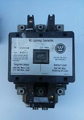 Westinghouse/Cutler Hammer  A202K3CAM 100amp Lighting Contactor.