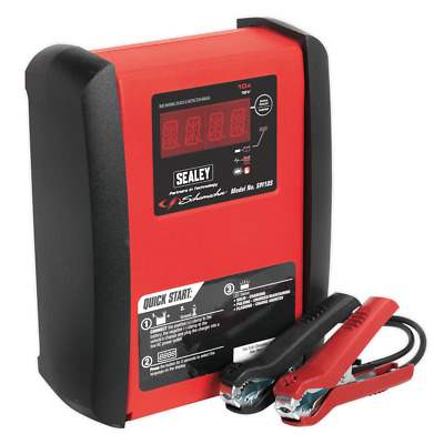 Sealey SPI10S Intelligent Speed Charge Battery Charger 10Amp 12V 230ah max