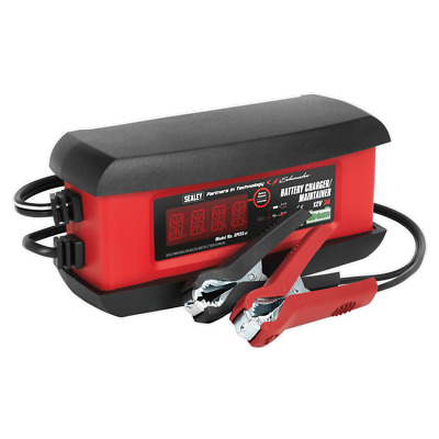 Sealey SPi3S 3A Intelligent Lithium Battery Charger Stop/Start Leisure GEL AGM