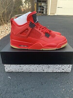 5363a05082ce9b Nike Women Air Jordan Retro IV 4 NRG Singles Day Fire Red White Black AV3914 -